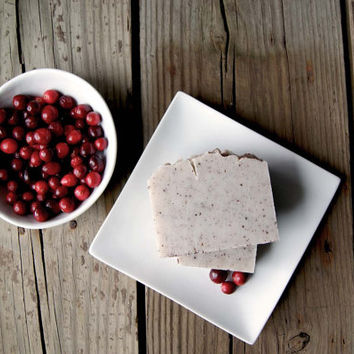No. 311 Bearberry: Composite Cranberry and Shea Butter Soap
