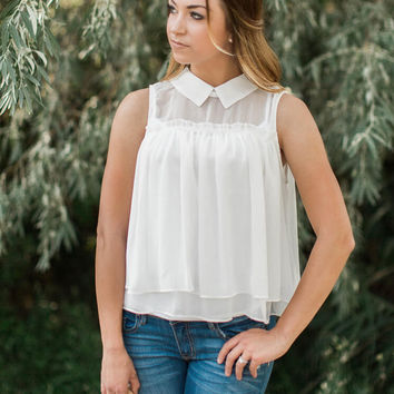 Collared Waterfall Top