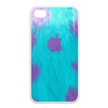 Treasure Design Funny Sully Just For APPLE IPHONE 4or4s Best Silicone Case