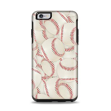 The Baseball Overlay Apple iPhone 6 Plus Otterbox Symmetry Case Skin Set