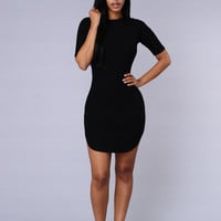 Campbell Dress - Black