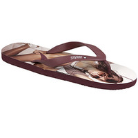 Savant Plum Mens Hello Boys Flip Flops