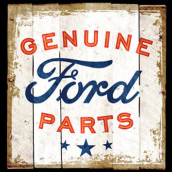 genuine ford parts logo distressed sign FORD cars  pick up truck t-shirt tee shirts Licensed T-SHIRTS car trucks tee shirts