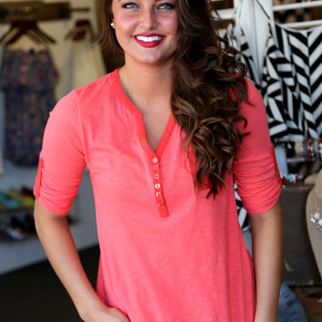 Casual Friday {Coral}
