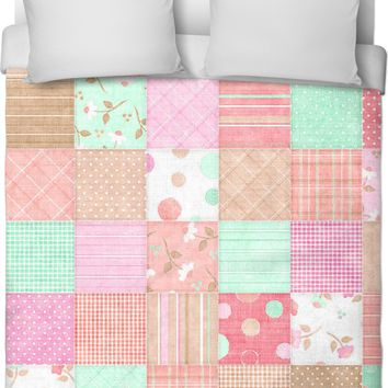 ROB Quilted with Neutrals Duvet Cover