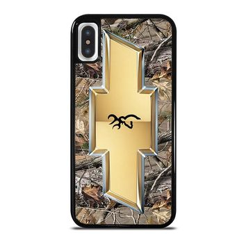 CHEVY BROWNING iPhone X Case Cover
