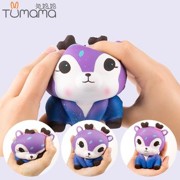 Tumama Antistress Squishes Unicorn Panda Deer Ice Cream PU Toy Kawaii Squishy Toys Healing Fun Stress Reliever Decompression Toy