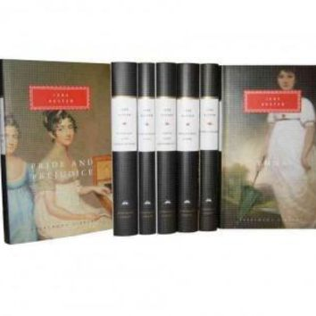 Jane Austen: Emma; Mansfield Park; Northanger Abbey; Persuasion; Pride and Prejudice; Sanditon and Other Stories; Sense and Sensibility (Everyman's Library)