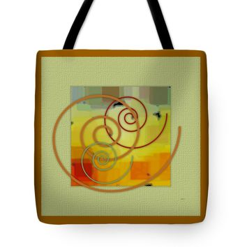 "Patchwork I Tote Bag for Sale by Ben and Raisa Gertsberg (18"" x 18"")"
