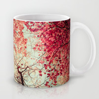 Autumn Inkblot Mug by Olivia Joy StClaire