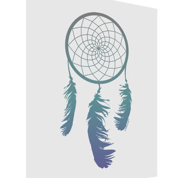 Mystic Dreamcatcher Matte Poster Print Portrait - Choose Size
