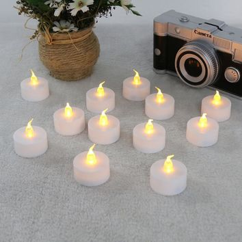Flickering Flameless LED Candles