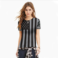 Fashion National flag digital printing T-shirt,Vest,Couples dress Hooded Long sleeved short sleeved Hoodie