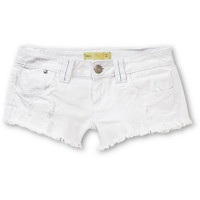 Almost Famous Maggi White Cut Off Shorts at Zumiez : PDP