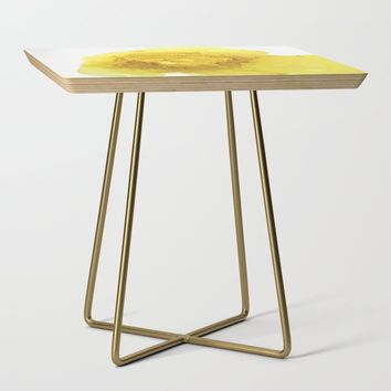 Manipura (solar plexus chakra) Side Table by duckyb
