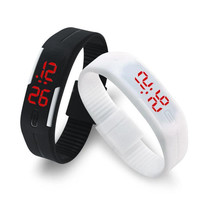 Rubber LED Bracelet Watch