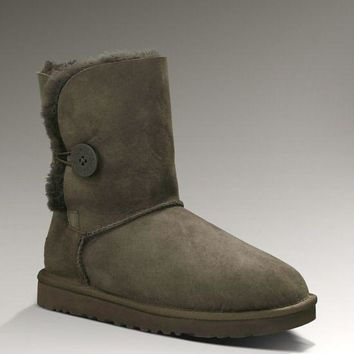 LFMON UGG 5803 Classic Short Women Men Fashion Casual Wool Winter Snow Boots Chocolate