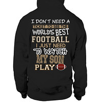 I Watch My Son Play Football