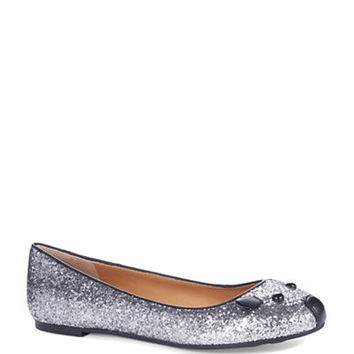 Marc By Marc Jacobs Glitter Mouse Flats