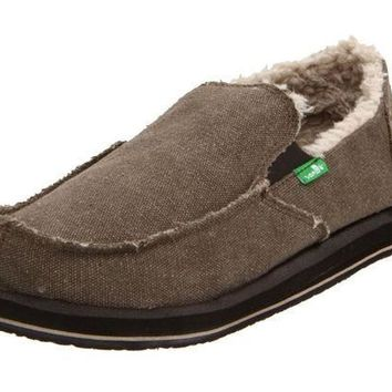 ICIKAB3 Sanuk Vagabond Chill Brown Slip-On Shoes