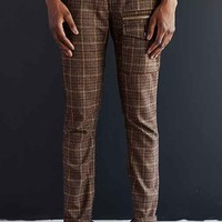 SLVDR Whyler Plaid Pant- Brown Multi