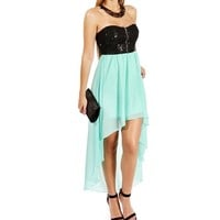 BlackMint Strapless Sequin
