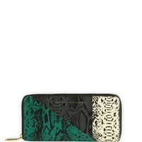 Al Ostoura | Marc By Marc Jacobs Sophisticato Snake Slim Zip Around Wallet