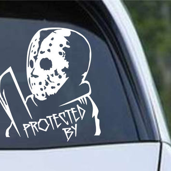 Friday the 13th Jason (b) Die Cut Vinyl Decal Sticker