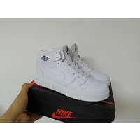 """""""Nike"""" Unisex Casual Fashion High Help Breathable Plate Shoes Couple Basketball Shoes Sneakers"""