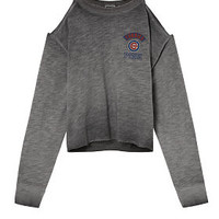 Chicago Cubs Cold Shoulder Crew - PINK - Victoria's Secret