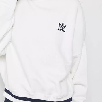 Adidas Originals Zipper High Neck Top Sweater Pullover Sweatshirt