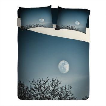 Bird Wanna Whistle Moon Sheet Set Lightweight