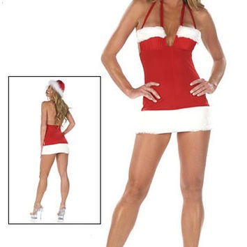 Sexy And Sassy Santa Strippers Dress