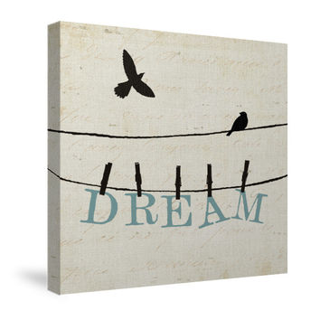 Bird Talk IV Canvas Wall Art