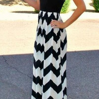 Black Bohemian Sleeveless Summer Dress