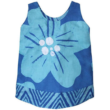 Reversible Giant Flower Dress for Baby