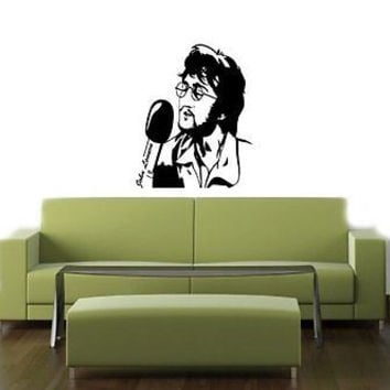 John Lennon Beatles Wall Art Sticker Decal T348