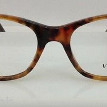 NEW AUTHENTIC VERSACE MOD 3155 COL 143 TORTOISE PLASTIC EYEGLASSES FRAME 50MM