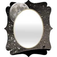 Shannon Clark Love Under The Stars Quatrefoil Mirror