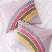 Rainbow Striped Pillowcase Set | Urban Outfitters