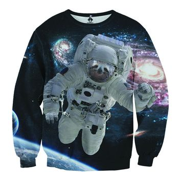 Astronaut Sloth Sweater