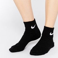 Nike 3 Pack Socks in Black