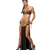 Princess Leia Slave Halloween Costume - Star Wars Halloween Costumes