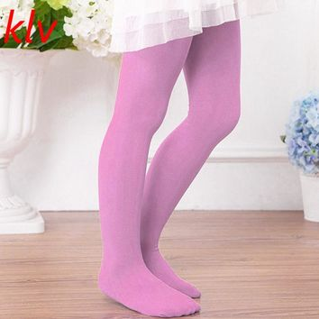 Kids Girls Ballet Silk Stockings Toddler Baby Children High Elastic Dance Tights