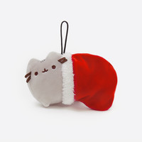 Stocking Pusheen plush ornament