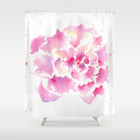 Embrace Shower Curtain by Susaleena