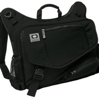 OGIO Hip Hop Messenger Bag (Black)