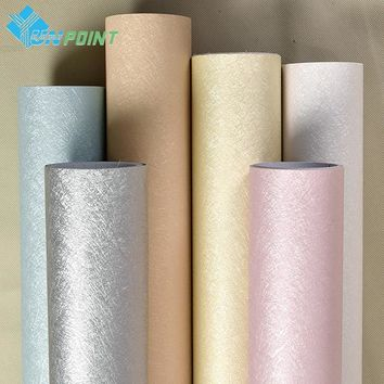 5M Silk Wallpaper Rolls Waterproof PVC Furniture Renovation Wall Sticker Vinyl Self adhesive Wallpapers For Living Room Bedroom