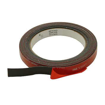 3M Scotch 5958FR VHB Tape: 1/2 in. x 15 ft. (Black)