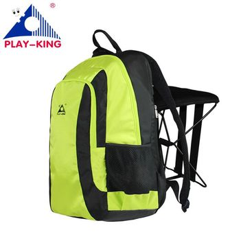 47L Outdoor fishing chair backpack hiking camping men's women's travel shoulder multifunctional large capacity fishing seat bag